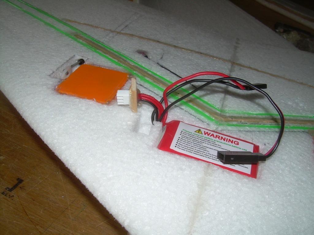 KE-850mAh LiFe battery